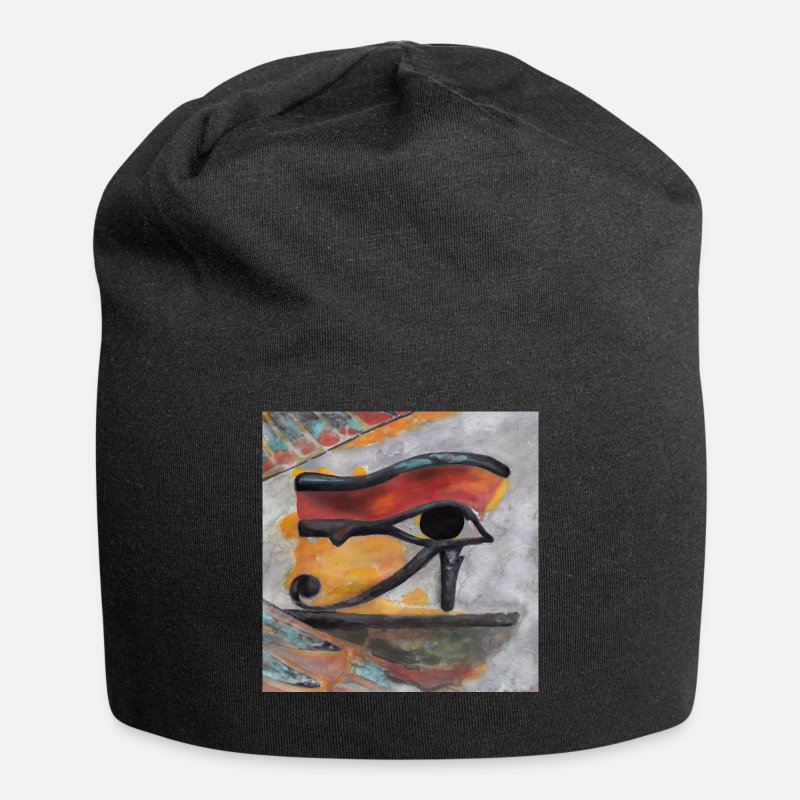 Egypt Caps & Hats - Eye of Ra - Beanie black