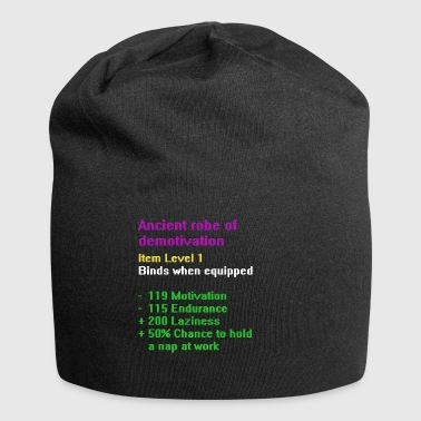 Robe van demotivatie - Jersey-Beanie