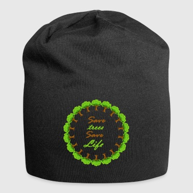 Save tree, save lives - Jersey Beanie