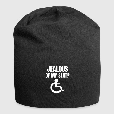 Jealous of my ? Wheelchair proverbs - Jersey Beanie