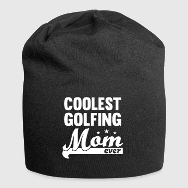Golfing Mom - Golfing Mama - Playing Golf - Jersey Beanie