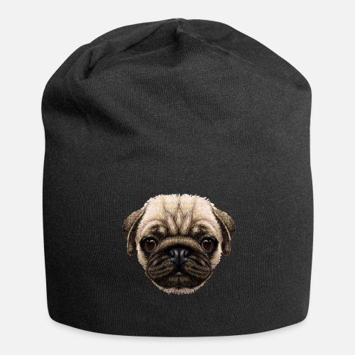 Dog dog lover Pug Beanie  e3fbcd2a7c9