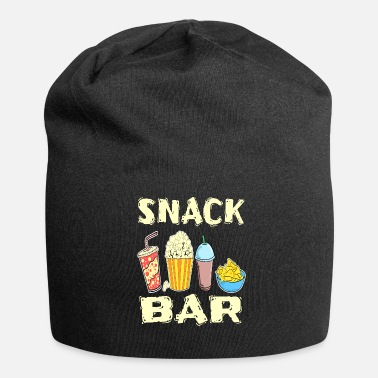Bobler Funny Snack Bar Design for Foodlovers Spise i din - Jersey-Beanie
