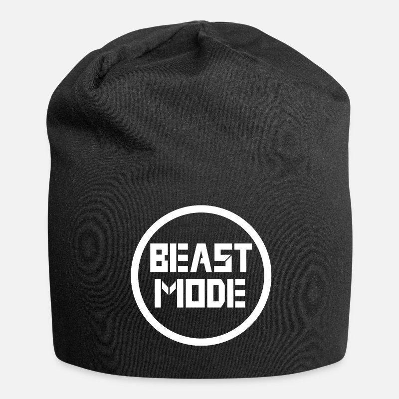 2fe98459192 Beast Mode Caps   Hats - Beast Mode logo - Beanie black