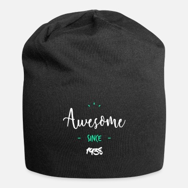 Since Awesome since 1938- - Beanie in jersey