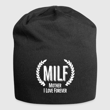 MILF mother I love forever (hot soccer mom) - Jersey Beanie