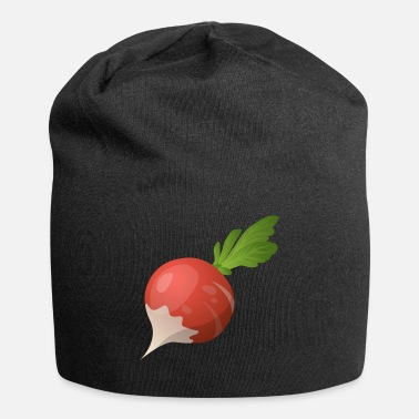 Gag Radishes in cartoon style - Jersey Beanie