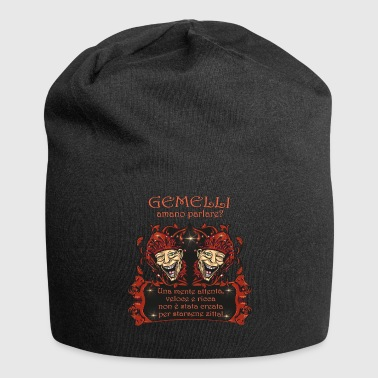 Zodiac Gemini | communicatief - intelligent - Jersey-Beanie