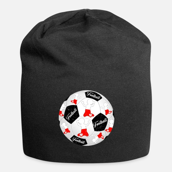 Football Caps & Hats - Poland Football Footballer Polska Football Footballer - Beanie black