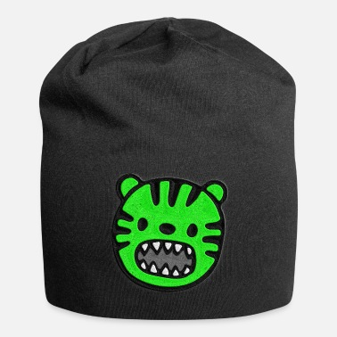478957435cb Stitch On Tiger green stitched look - Beanie