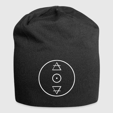 Alchemy gold circle icon - Jersey Beanie