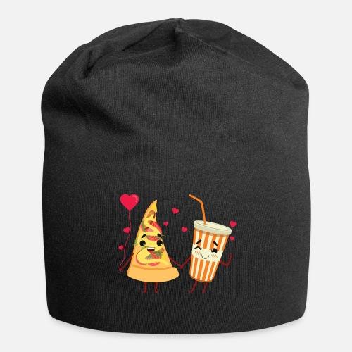 ea96fe0fa15c4 Fast Food Love - Unhealthy Couple Beanie