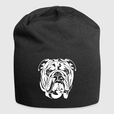 ENGLISH BULLDOG - English Bulldogge - Jersey Beanie