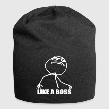 like a boss - boss shirt - Jersey-Beanie