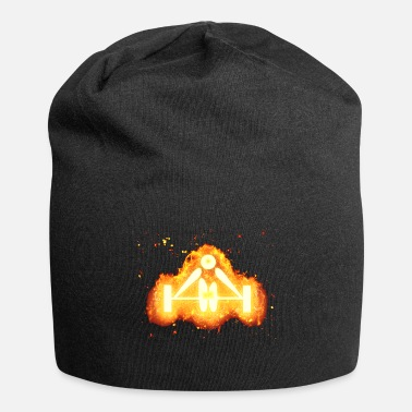 Lifting Weight lifting weight burning - Jersey Beanie