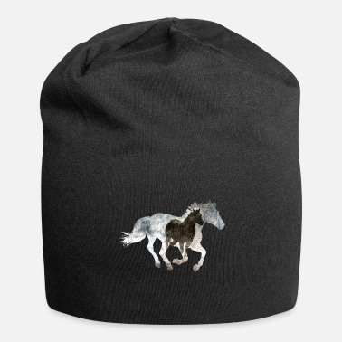 Gallop Galloping horse - Jersey Beanie