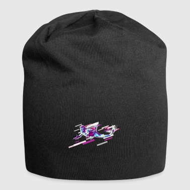 Atlantis Mermaid Fantasy 80s Retro Violet - Jersey-Beanie