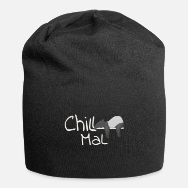 Chill Mal Tapir Cozy Hang Out Cadeau décontracté - Bonnet en jersey