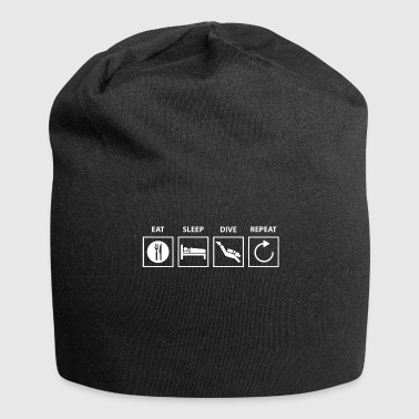 Dive Diving diving. - Jersey Beanie