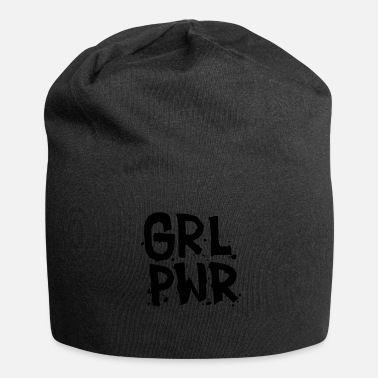 Girl Power Girl Power Motivshirt - Gorro holgado de tela de jersey