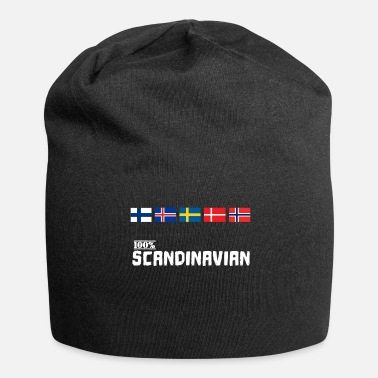 Scandinavie Scandinavie 100% Scandinave Viking flag - Beanie