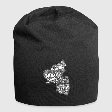 Rhineland-Palatinate federal state cities and municipalities - Jersey Beanie