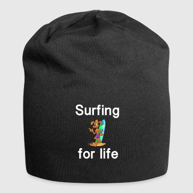 Surfing Surfing for life Surfing Surf - Jersey Beanie
