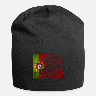 Ronaldo Portugal Lissabon Pride National Football Gift - Jersey-Beanie