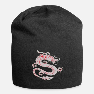 Asiatique Dragon asiatique - Bonnet en jersey