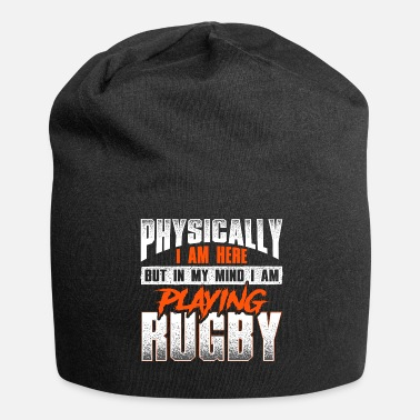 Rugby Rugby Player Rugby Spiller Rugby Fans Gift - Jersey-Beanie
