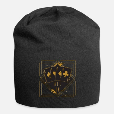 Poker Karty do gry Ace Poker Kasyno Prezent All In - Beanie