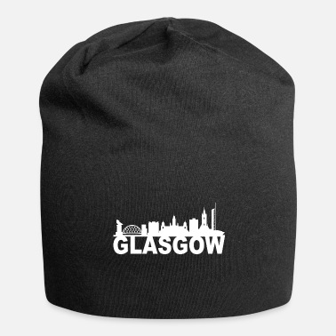 Città Idea di Glasgow Scotland Skyline Gift UK - Beanie in jersey