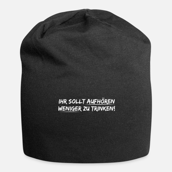 Birthday Caps & Hats - crew - Beanie black