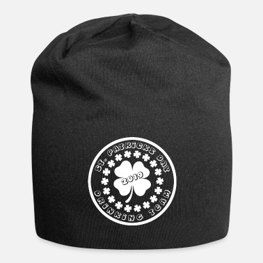 Day St Patricks Day Drinking Team 2019 Clover - Jersey-Beanie
