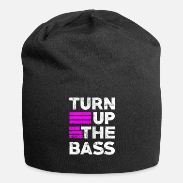 Drumnbass Drum n Bass party music Drumnbass spruch - Beanie