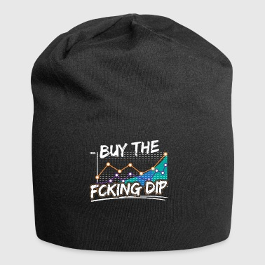 BUY THE FCKING DIP - Jersey Beanie
