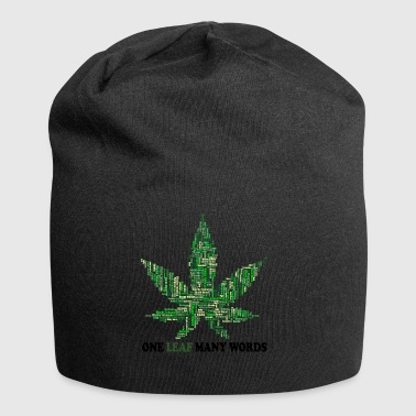 Smoke weed everyday - Jersey Beanie