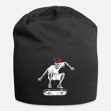 Skateboard Skateboard Skateboard Skateboard - Beanie in jersey