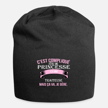 Trait traiteuse - Bonnet en jersey