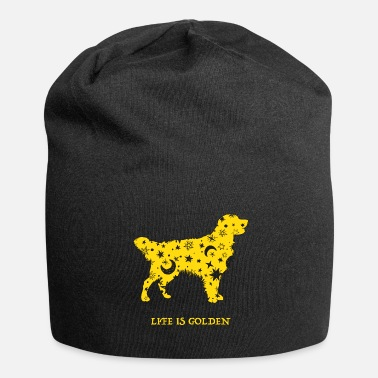 Golden Life is Golden Retriever - Jersey-Beanie
