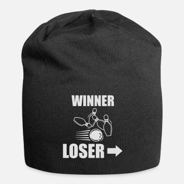 Funny Bowling Winner Loser Funny Bowling - Beanie