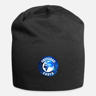 Earth Hour Universe Earth Logo - Univers de la Terre - Bonnet en jersey