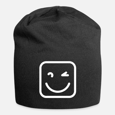 Sympathie Sympathique smiley - Bonnet en jersey