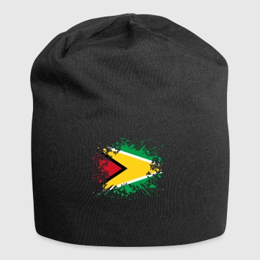 home country roots roots love Guyana png - Jersey Beanie