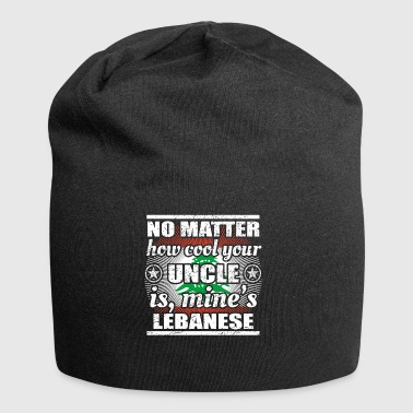 no matter cool uncle uncle gift Lebanon png - Jersey Beanie