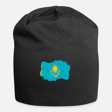 Kazakhstan Roots Roots Flag Homeland Country Kazakhstan png - Jersey Beanie