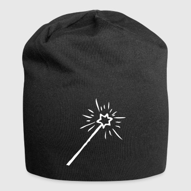Magic Wand Magic wand, witch, sorcerer, magic - Jersey Beanie