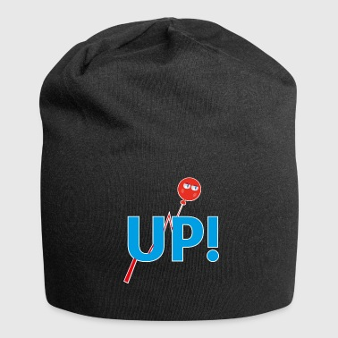 Up UP - Beanie in jersey