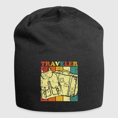 Travel Traveling Travel - Jersey Beanie