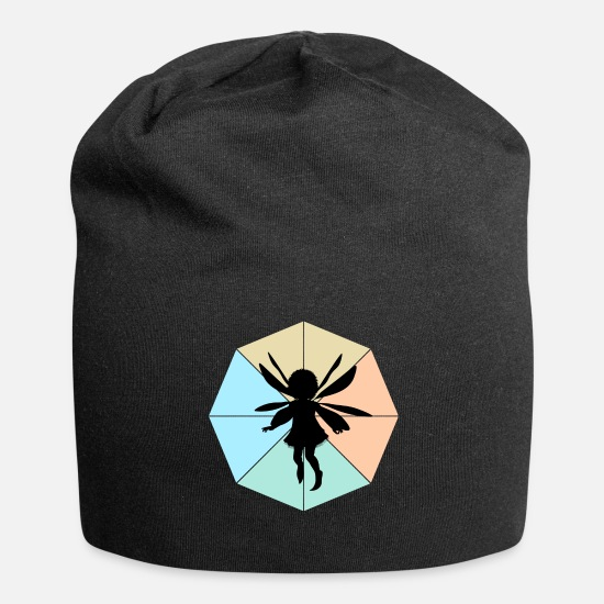 Tail Caps & Hats - fairy - Beanie black
